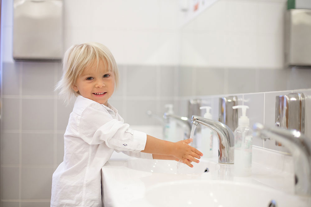 Cleaning Up, Handwashing And More Practical Life Skills