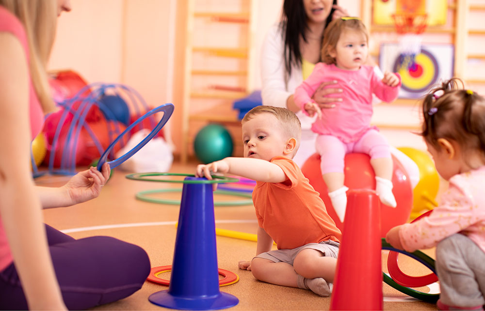 Indoor Obstacle Courses Build Strong Bodies Now